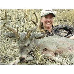 SA-10 Coues Deer and Mountain Lion Hunt for Two Hunters, Arizona