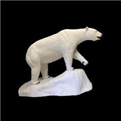 SA-18 Replica Polar Bear with Base