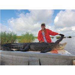 SA-42 Alligator Hunt, Louisiana