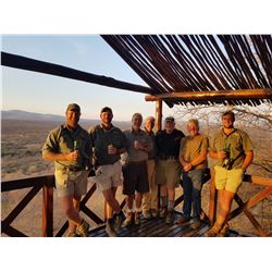 SOMERBY SAFARIS: 9 Day South African Safari (7 Days of Hunting) for 2 Hunters for Wildebeest, Blesbo