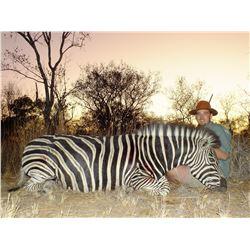 SADAKA SAFARIS: 7-Day South African Safari for 2 Hunters for Impala and Zebra
