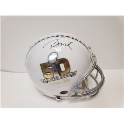 TOM BRADY AUTOGRAPHED SUPER BOWL MVP AUTHENTIC HELMET