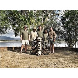 HERITAGE SAFARIS: 9 Day Buffalo Hunting Safari for 1 Hunter in The Selous Game Reserve, Tanzania for