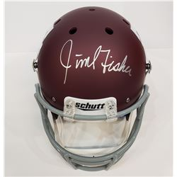 JIMBO FISHER AUTOGRAPHED TEXAS A&M HELMET