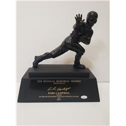 EARL CAMPBELL AUTOGRAPHED HEISMAN TROPHY