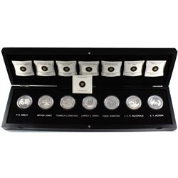 *2012-2013 Canada Complete Group Of Seven 7-coin Fine Silver Set in Deluxe Case (some capsules may b