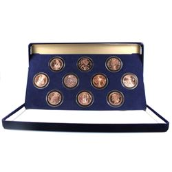 2017-2019 Zombucks 1oz .999 Fine Copper Rounds Encapsulated in Deluxe Blue Felt Display Case. You wi