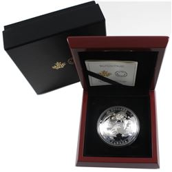 2017 Canada $50 Maple Leaves in Motion Convex Fine Silver Coin (TAX Exempt).