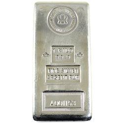 1 Kilo RCM .999 Fine Silver Bar (TAX Exempt).