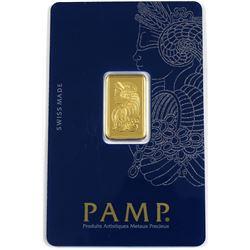 Pamp Suisse 5 Gram .9999 Fine Gold Bar (TAX Exempt).