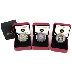 2012-2013 Canada 25-cent Coloured Commemorative Coin Collection. You will receive a 2012 Rose-breast