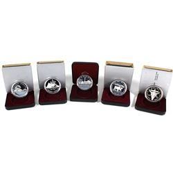 1982-1987 Canada Proof Silver Dollar Collection. You will receive each date from 1982 and 1987 excep