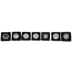 1971-1978 Canada Specimen Silver Dollar Collection. You will receive each date from 1971 to 1978 exc