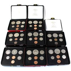 1971-1980 Canada Specimen Double Penny Set Collection. You will receive each date from 1971 to 1980