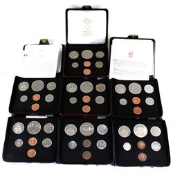 1973-1979 Canada Specimen Double Penny Set Collection. You will receive each date from 1973 to 1979.