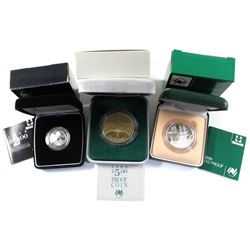 1788-1988 Australia 200th Anniversary $2, $5 & $10 Proof Commemorative Coins - the $2 and $10 Coins