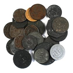 Estate Lot of Germany Notgeld Currency Coinage. You will receive 26x different coins.