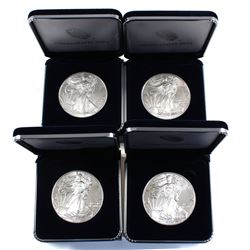 2017 USA 1oz American Eagle Fine Silver Bullion Coins in United States Mint Packaging (coins lightly