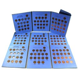 3x Canadian Small Cent Collection date ranges between 1920-1972 in Blue Whitman Book. Each book cont
