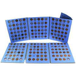 1909-1976 United States Lincoln Head 1-cent in vintage Whitman folder. You will receive 107 pcs date