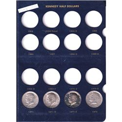 1971-1986 Kennedy Half Dollar Collection in various mint marks. 31 pcs