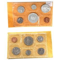1964 & 1969 Canada Proof-Like Uncirculated Set in original pliofilm. 2pcs
