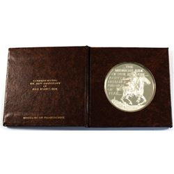 1975 Call To Battle - April 1775 Sterling Silver Medal Commemorating the 200th Anniversary of Paul R
