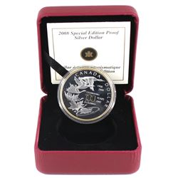 2008 Canada $1 Royal Canadian Mint Centennial Special Edition Proof Sterling Silver Coin (missing ou
