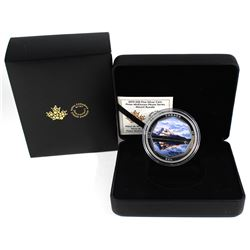 2019 Canada $30 Peter McKinnon Photo Series - Mount Rundle Fine Silver Coin (capsule is scratched).