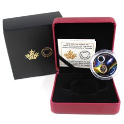 2018 $20 150th Anniversary of the Royal Astronomical Society of Canada Meteorite Fine Silver Coin (c
