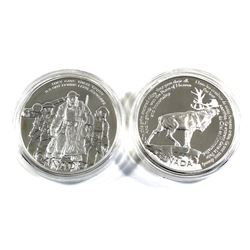 2006 Canada $30 National War Memorials Sterling Silver Coins in Capsules - National War Memorial & B