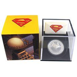 2013 Canada $20 Superman & Metropolis Fine Silver Hologram Coin (TAX Exempt).