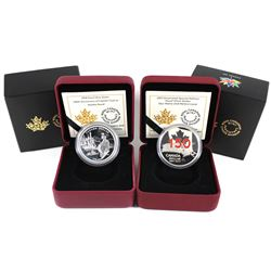 2017 Canada Red Enameled Special Edition - Our Home & Native Land & 2018 240th Anniversary of Captai