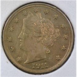 1911 LIBERTY NICKEL AU