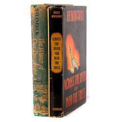 Grouping: Steinbeck (1961) and Hemingway (1950)
