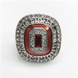 2014 OHIO STATE BUCKEYES NCAA FOOTBALL NATIONAL CHAMPIONSHIP RING - EZEKIEL ELLIOT
