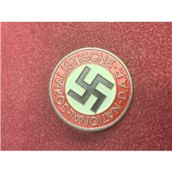 Authentic NSDAP Membership Badge German War Lapel Pin