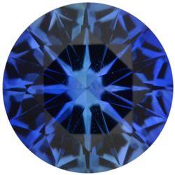 SRI Lanka AAA+ Natural Extra Fine KASHMIR BLUE Round Diamond Cut Sapphire