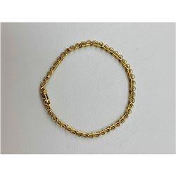 Jafa Ladies 10kt Gold and Diamond Bracelet