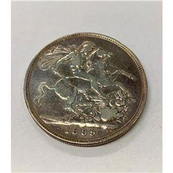 1889 British Crown