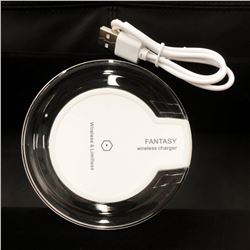 New Fantasy Wireless Phone Charger With Glowing Night Light