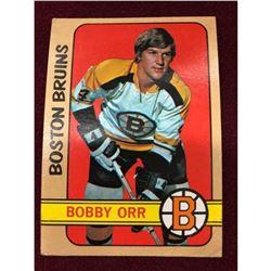 Vintage 1972 Bobby Orr Hockey Card