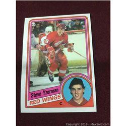 1984 Vintage Steve Yzerman Rookie Card