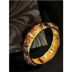 Beautiful, golden designer bracelet 34
