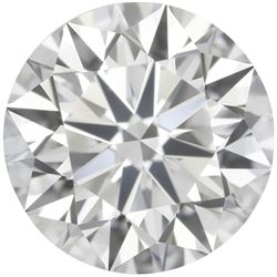 3.4mm Precision Cut AFRICAN *Round* NATURAL FINE DIAMOND - VVS2-VS11 - E-F