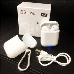 New Set Of i9S-TWS Wireless Air pods With Case, Charging Cord & Box