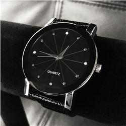 Large Quartz Stainless Steel Watch