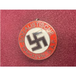 Authentic NSDAP Membership Badge German War Lapel Pin