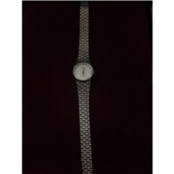 Elegant Rare Ladies Piaget by Quartz Watch with Diamonds