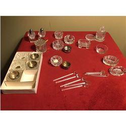 Large Lot Of Bohemian Glasswares